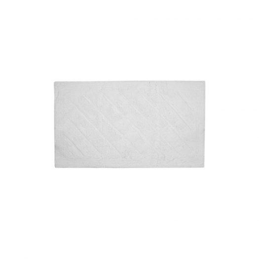 Daze Collection Bath Mat White 55x85cm