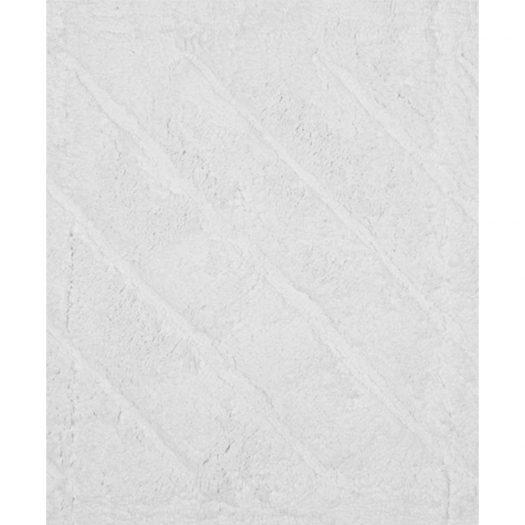 Daze Collection Bath Mat White 45x60cm