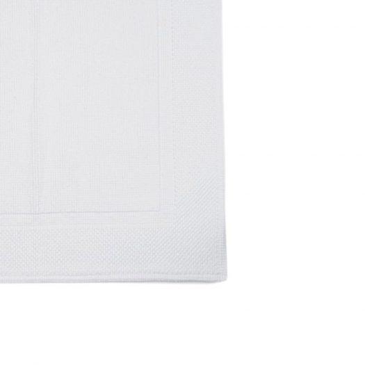 Lofty Collection Bath Mat White 60x60cm