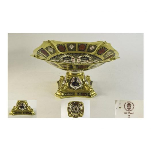 Old Imari Solid Gold Band – Dolphin Centre Piece