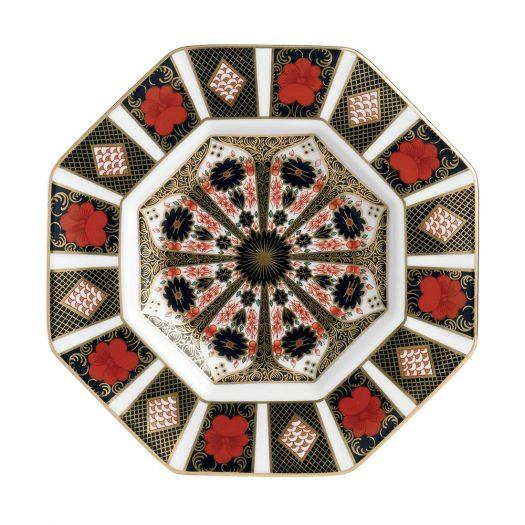 Octagonal Plate 23.5cm