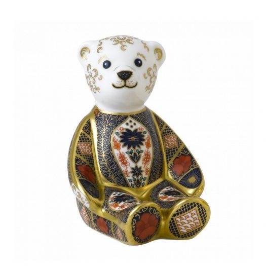 Old Imari Solid Gold Band Bear
