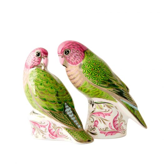The Majestic Love Birds Pair Limited Edition Of 500