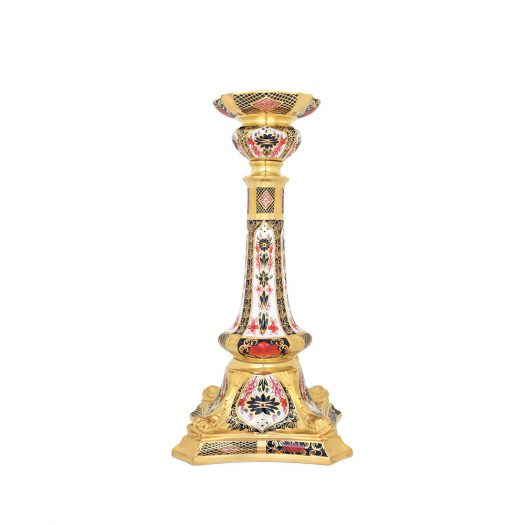Old Imari Solid Gold Band - Candlestick Large