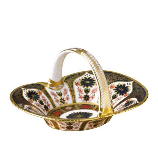 Old Imari Solid Gold Band - Heather Basket