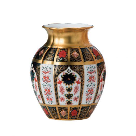 Old Imari Solid Gold Band - Tulip Vase
