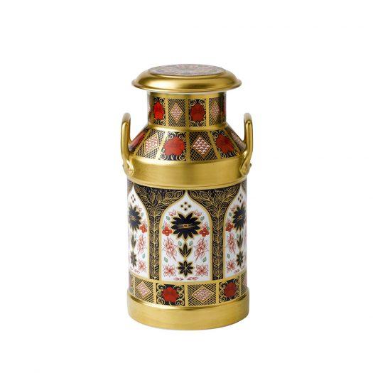 Old Imari Solid Gold Band - Churn