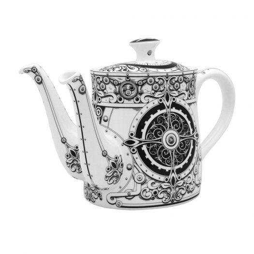 Steampunk Ante Meridiem - Medium Teapot - Double Spout (Boxed)