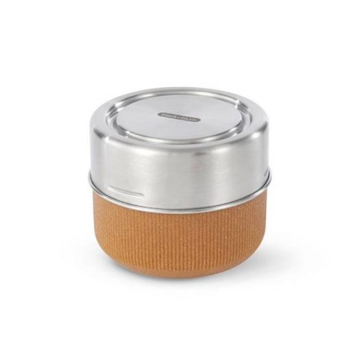 Lunch Pot, Glass, Almond, Large 600ml