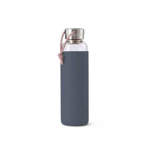 Water Bottle, Glass, Slate, 600ml