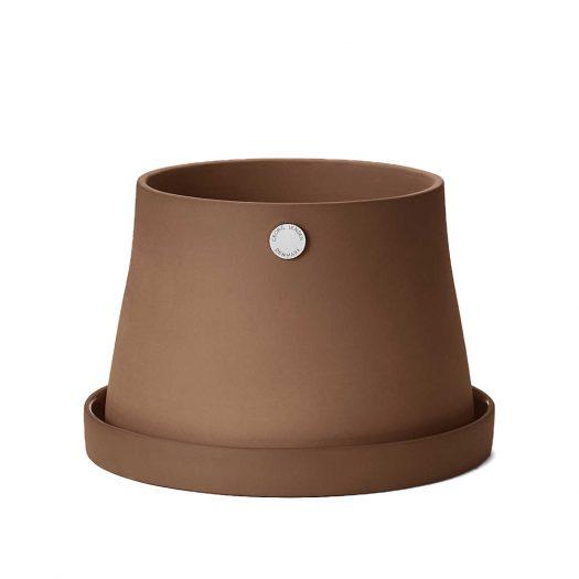 Terra Terracotta Pot and Saucer 16cm