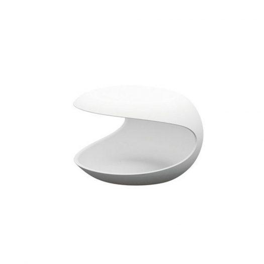 Zanotta – White Shell Side Coffee Table