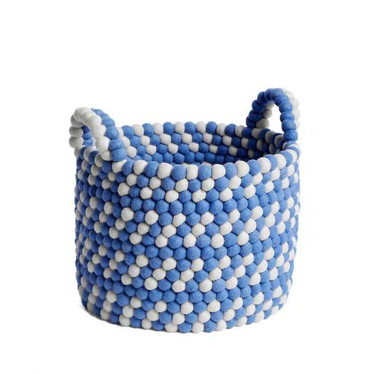 Beaded Wool Basket 40cm