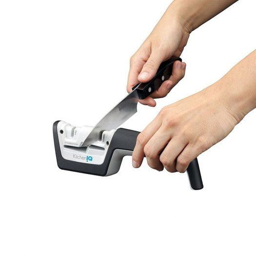 Pull-Thru Knife & Scissors Sharpener
