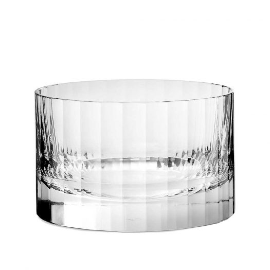 Fluted Crystal Ice Bucket 12.6cm