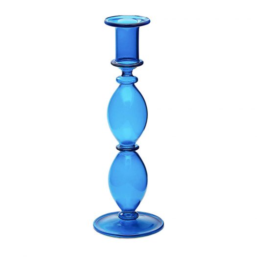Harbour Glass Candle Holder 23cm