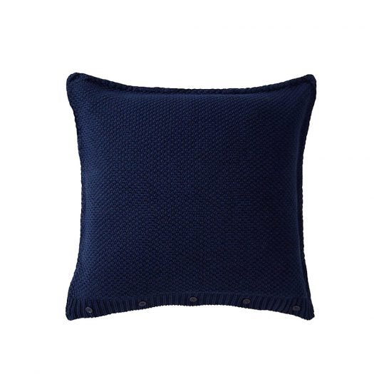 Highland Cable-knit Cotton Cushion Cover 50x50cm