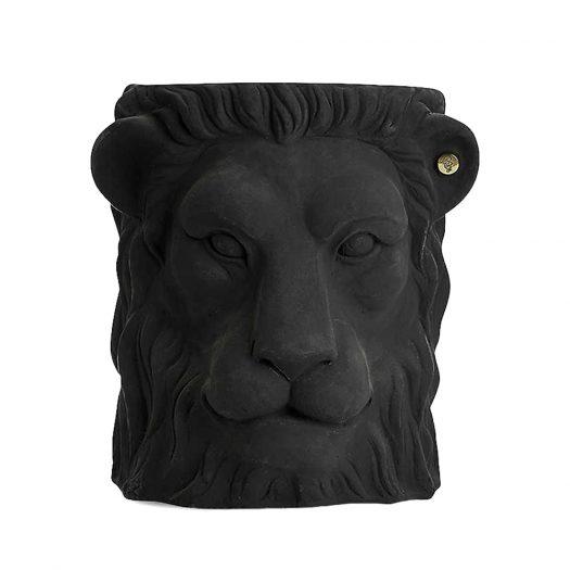 Lion Terracotta Plant Pot 40cm