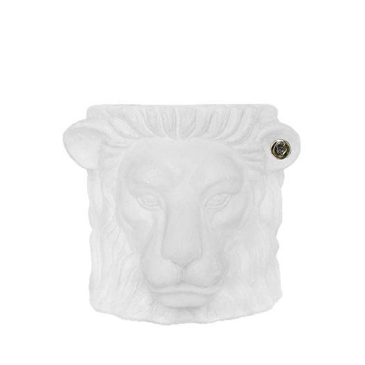 Lion Terracotta Pot 20cm
