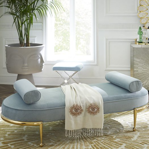 Muse Eyes Bead-embellished Camel Hair and Wool-blend Throw