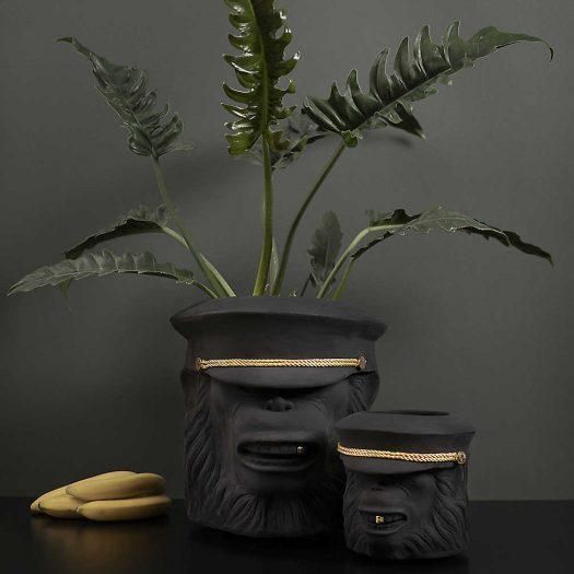 Monkey Terracotta Plant Pot 40cm