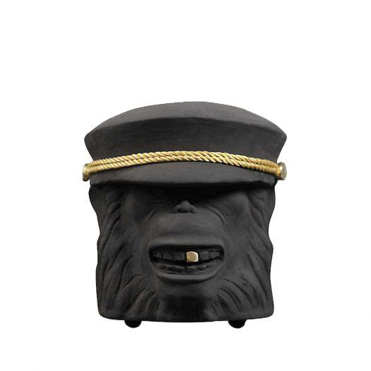 Monkey Terracotta Pot 20cm