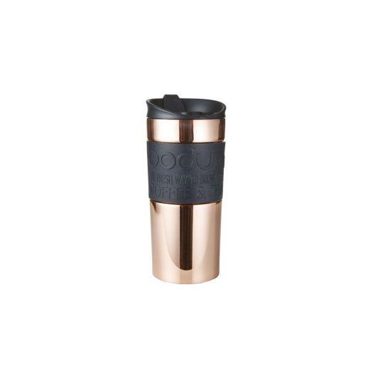 Stainless Steel Vacuum Travel Mug, Copper