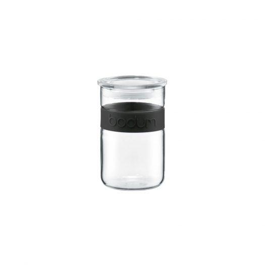 Presso Storage Jar, Black