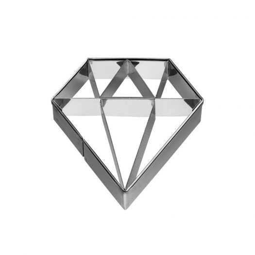 Diamond with Detailing Cutter, 6cm