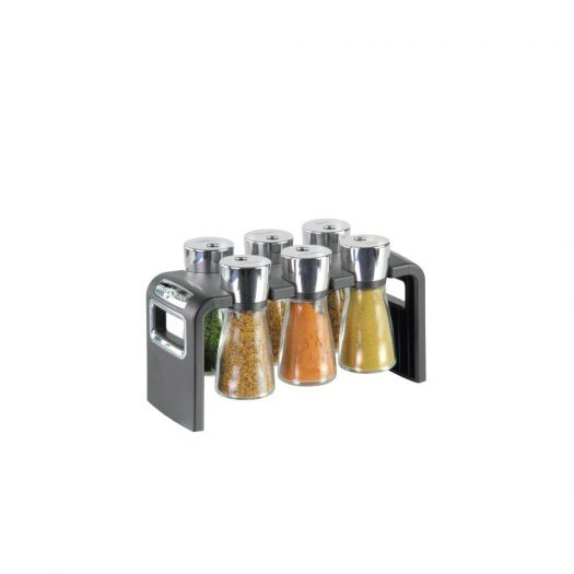 Herb and Spice Rack, 6-piece Set