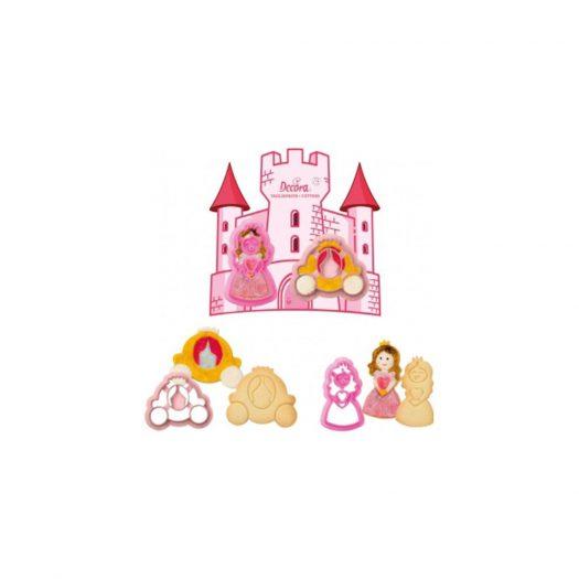 Princess Cookie Cutter Set, 2pcs