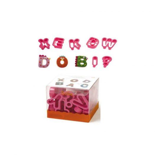 Alphabet Cookie Cutter, Set of 27