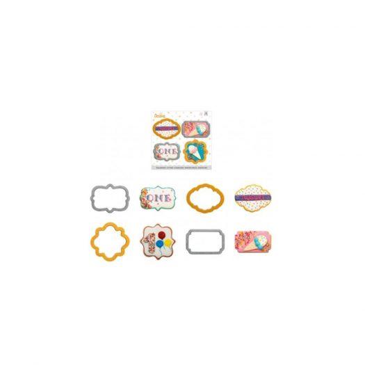 Mini Frames Cookie Cutter Set, 4Pcs