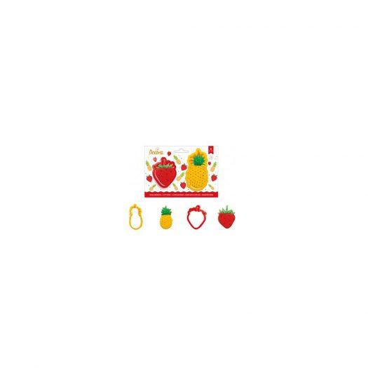 Tropical Fruits Cookie Cutter Set, 2Pcs