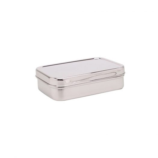 Solo Rectangle Steel Lunch Box