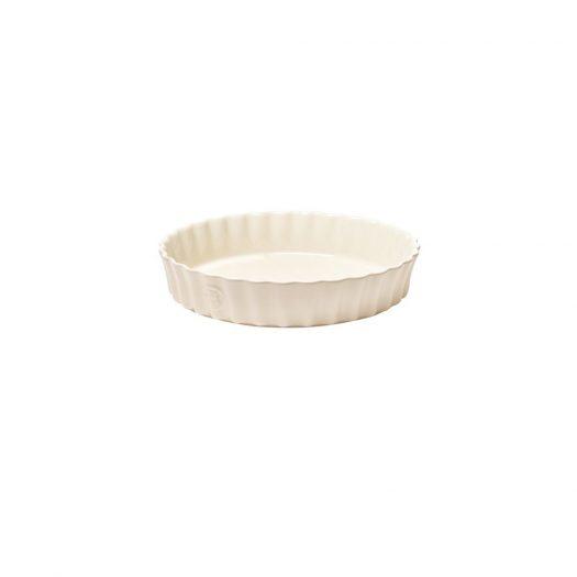Henry Tart Round Dish, Cream