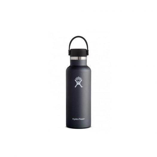 Vacuum Bottle with Standard Mouth, Black, 530ml