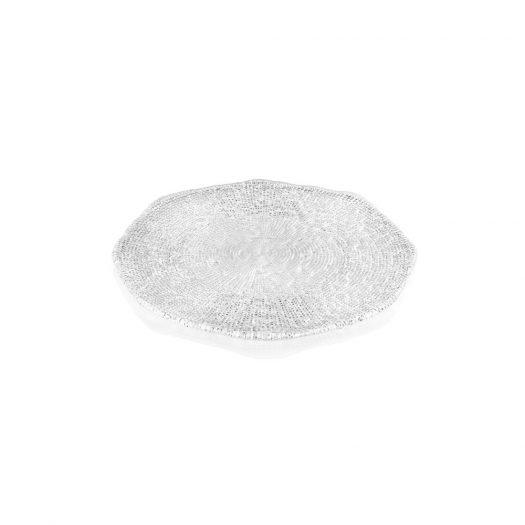 Diamante Clear Serving Platter