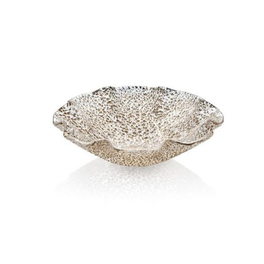 Special Gold Scalloped Bowl