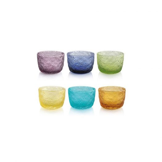 Tricot 6 Piece Assorted Bowl