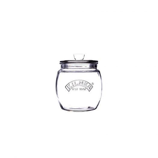 Push Top Storage Jar