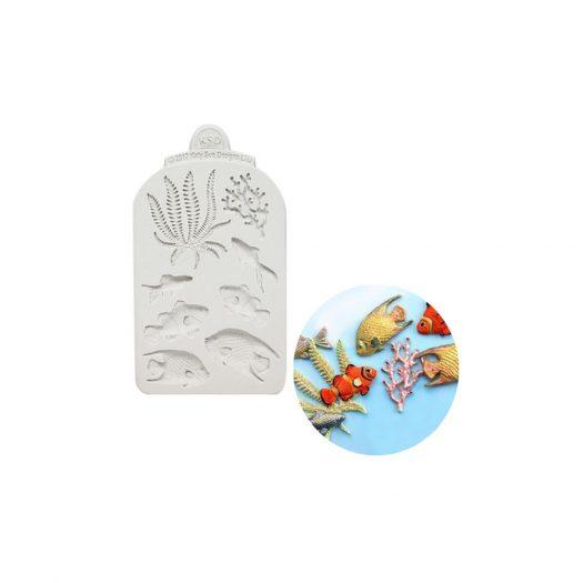 Fish, Seaweed and Coral Mold