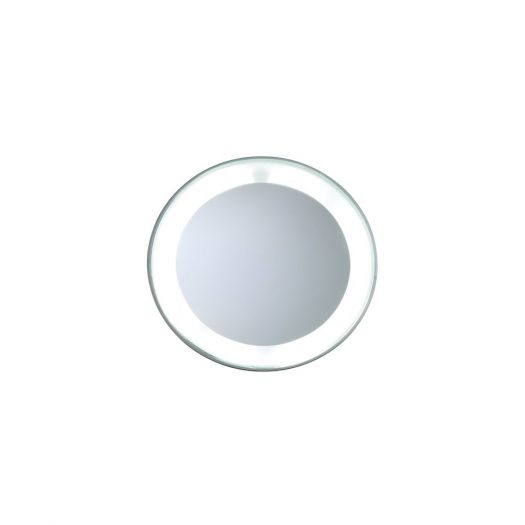 Mini LED Lighted Mirror 15x Magnification