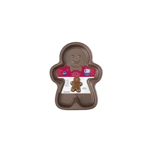 Gingerbread Boy Brown Cake Pan