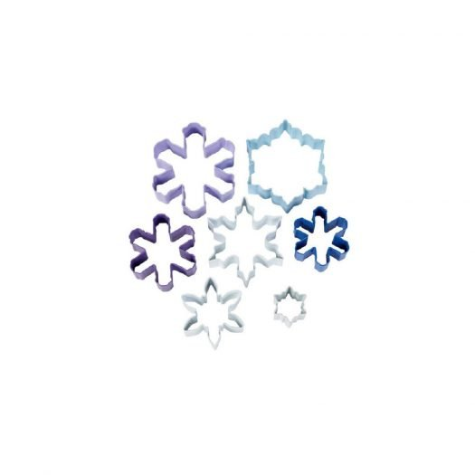 Snowflake Cookie Cutter, 7 Piece Set