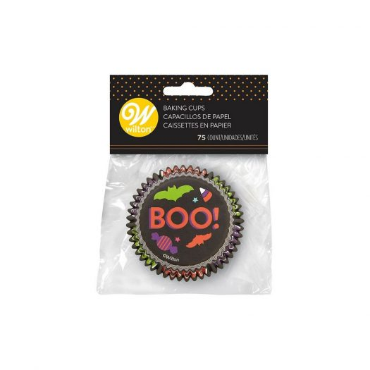 Halloween Boo Baking Cups, Std. Size