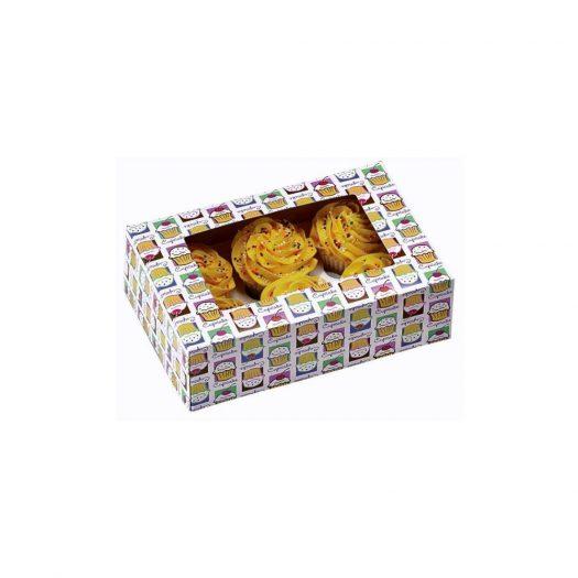 Cupcake Heaven for 6 - Cupcake Box