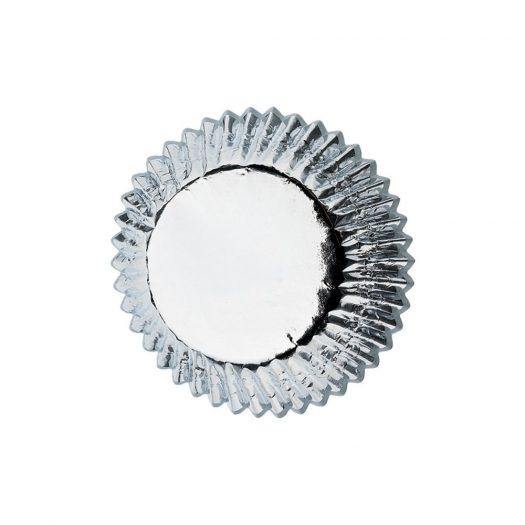 Silver Foil Mini Baking Cups, Mini size