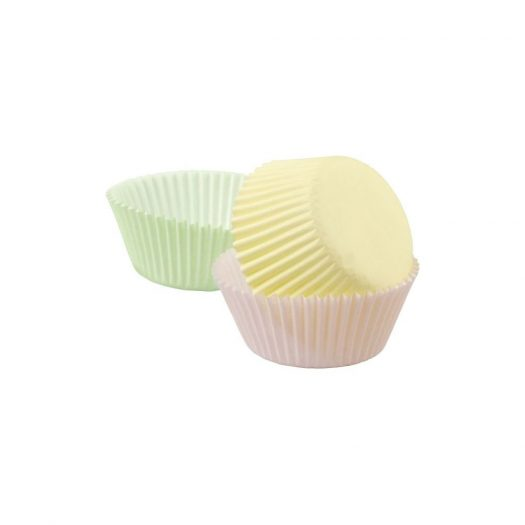 Assorted Pastel Colour Baking Cups Standard size