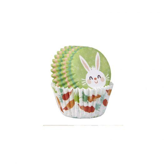 Carrot & Bunny Baking Cups, Mini